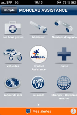 Application Mobile Monceau Assistance